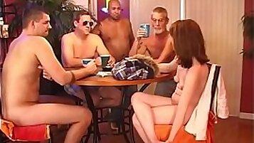 Chubby Wife ex gangbanged by neighbors