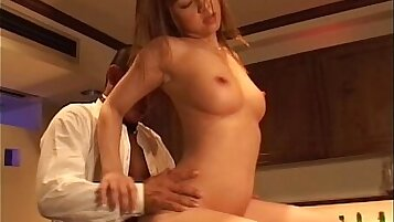 Ariella Romano Gets Her Nice Breasts Sprayed with Facial Cum