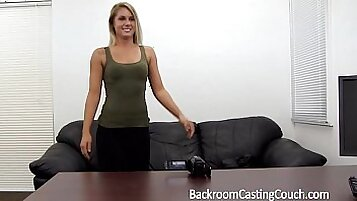 Porn casting babe anal Creampie