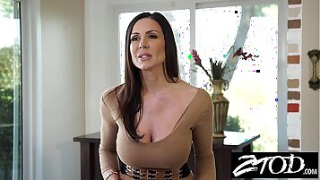 Beautiful Milf enjoys sucking and fucking big dick and gets her sexy ass